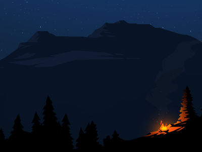 Day 3: Campfire by James Barnes