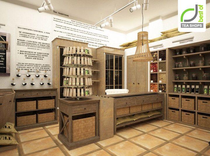 Tea shop by kristina krutaya i want to eat here for Tea room design quarter