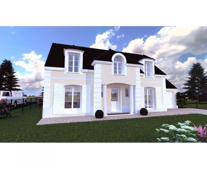 La maison Carroussel 135 est un modèle classique du0027Ile de France - salon sejour cuisine ouverte