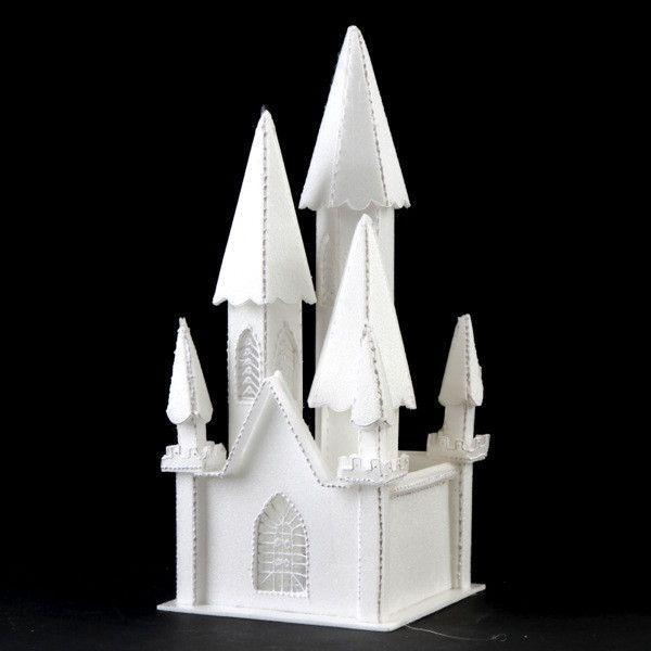 Styrofoam Castle #1