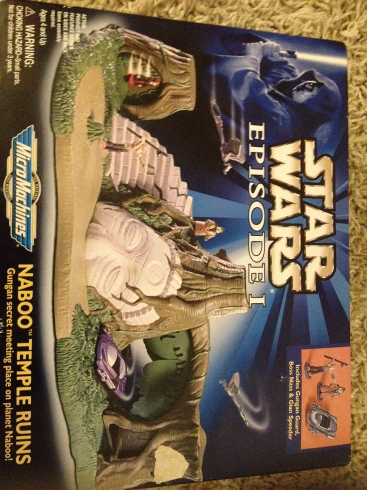 Star Wars Episode 1 Galoob Micro Machines Naboo Temple Ruins