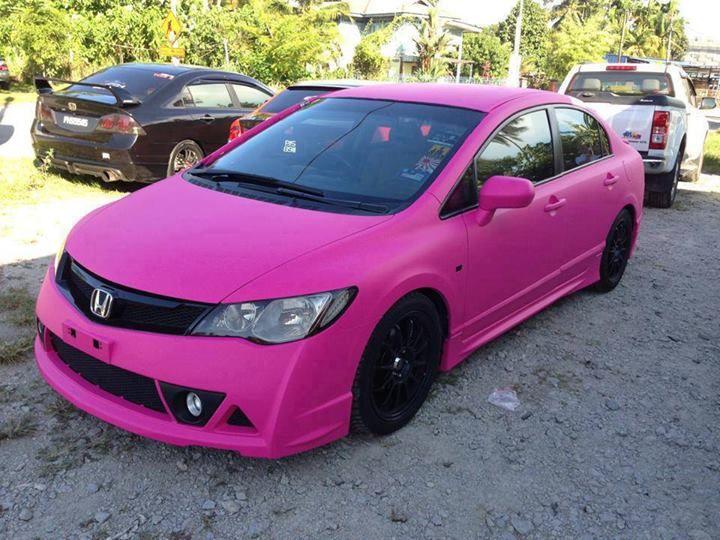 Honda Accord Honda Vtec Honda Accord Pink Car