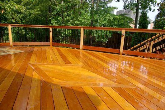 Comparing Decking Materials East Teak Decking Material Hardwood Decking Deck