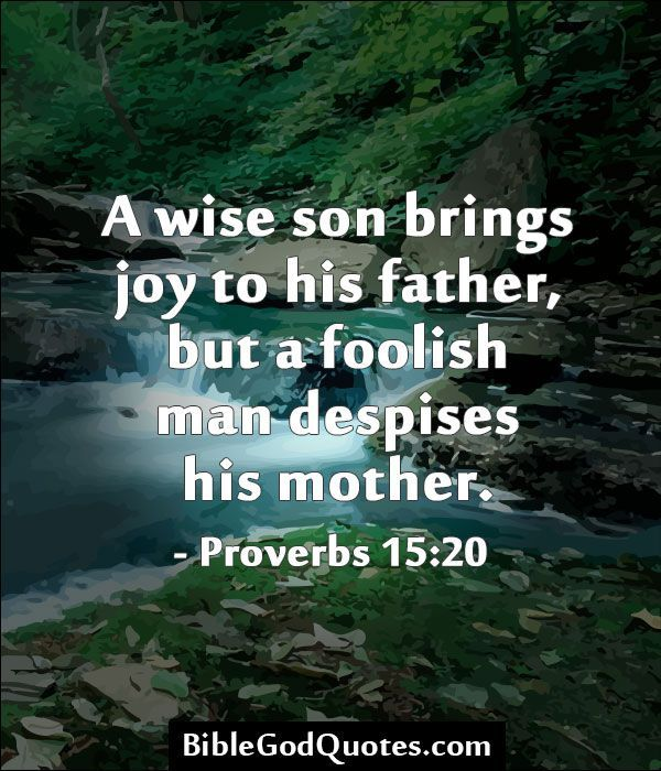 Bible Verse From Mother To Son Google Search Watch And Pray