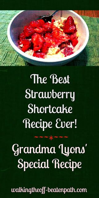 Walking the off-beaten path: The BEST Strawberry Shortcake Ever!