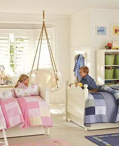 Brother And Sister Sharing The Same Bedroom Love The Chair By The Way By Dollie One Day When