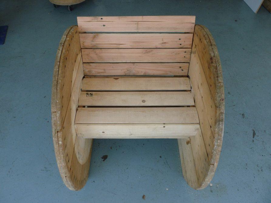 fauteuil touret tuto palette r alisation touret. Black Bedroom Furniture Sets. Home Design Ideas