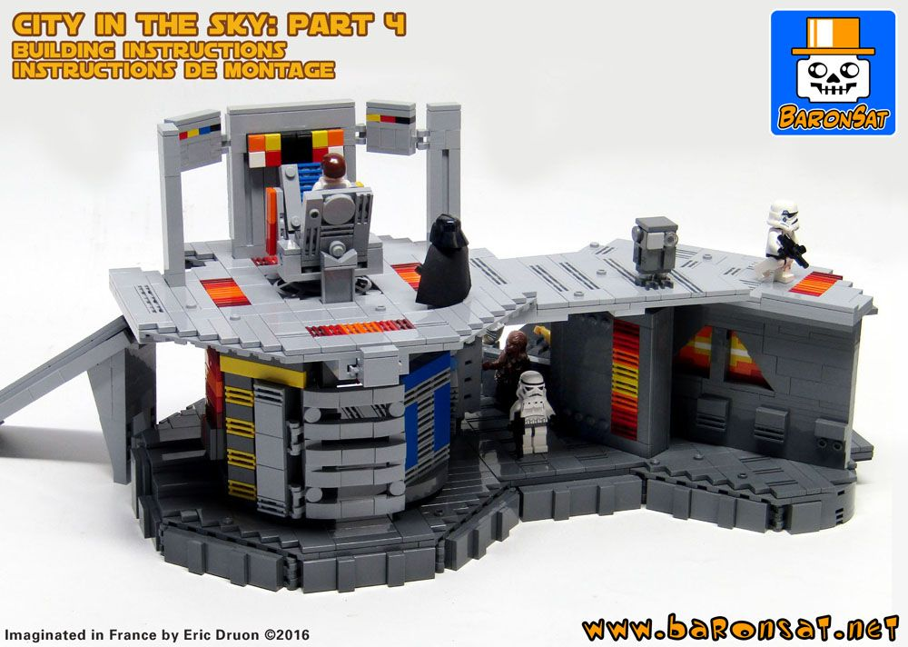 Lego Building Instructions Cloud City Bespin Custom Moc Part 4 Lego Building Instructions Lego Lego Star Wars