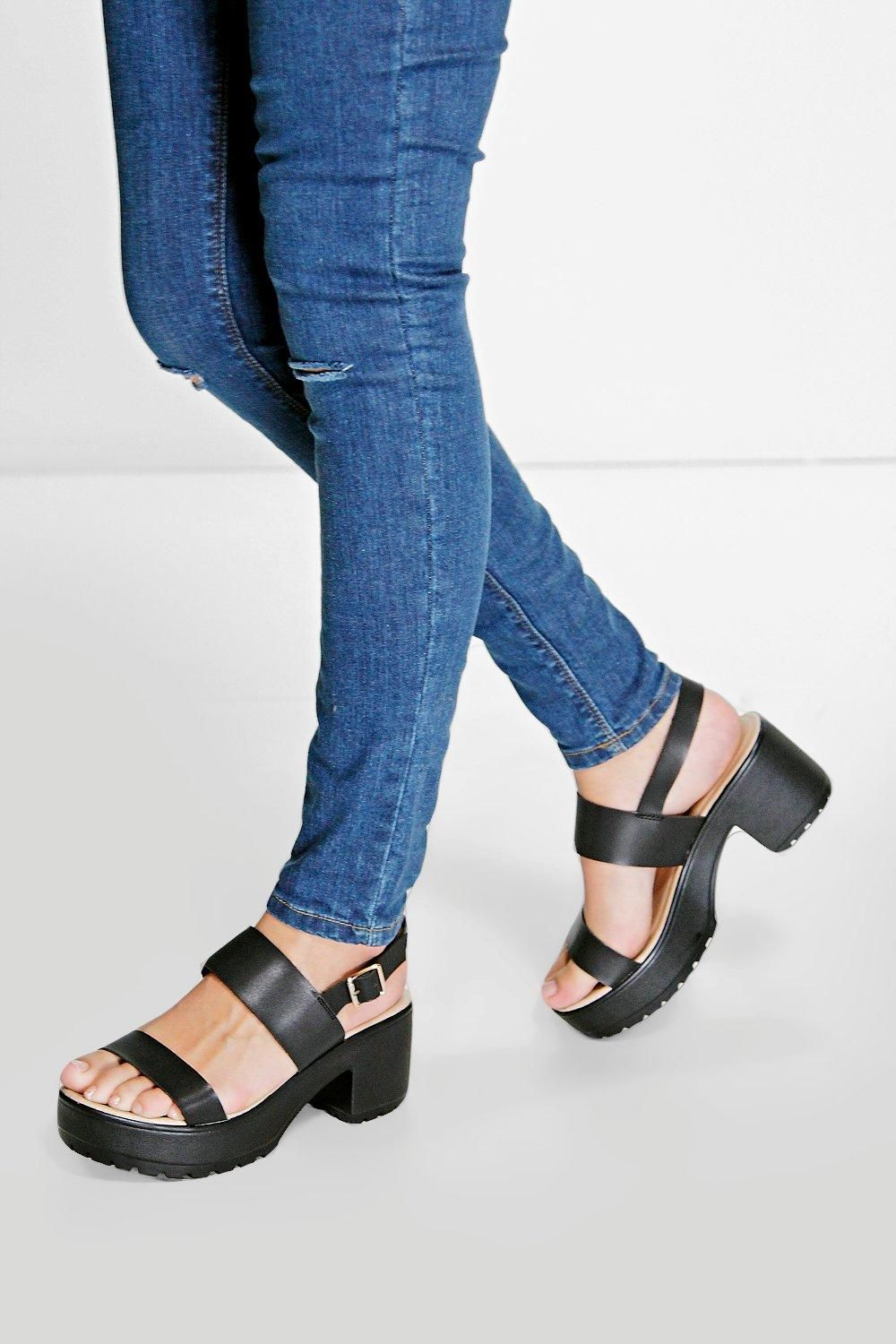 5c106b15eb2a Ella Two Part Cleated Sandal