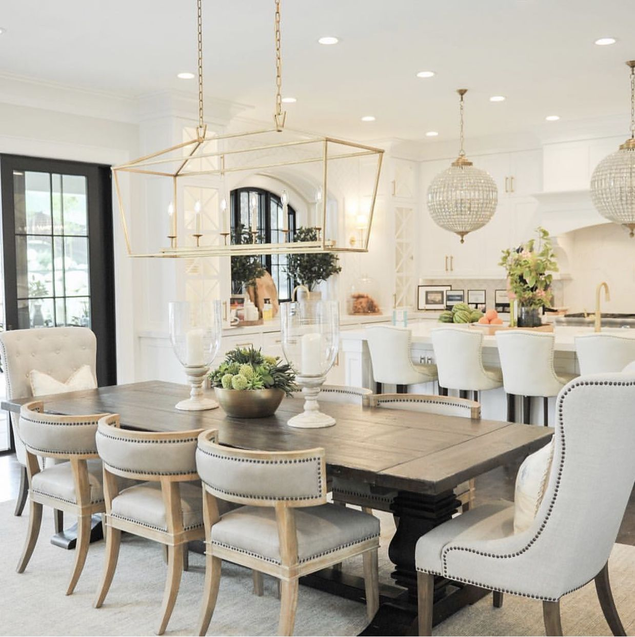 Decorate Living Room And Dining Room Combo: Pin By Venu Bhakhri On Around The House In 2020 (With
