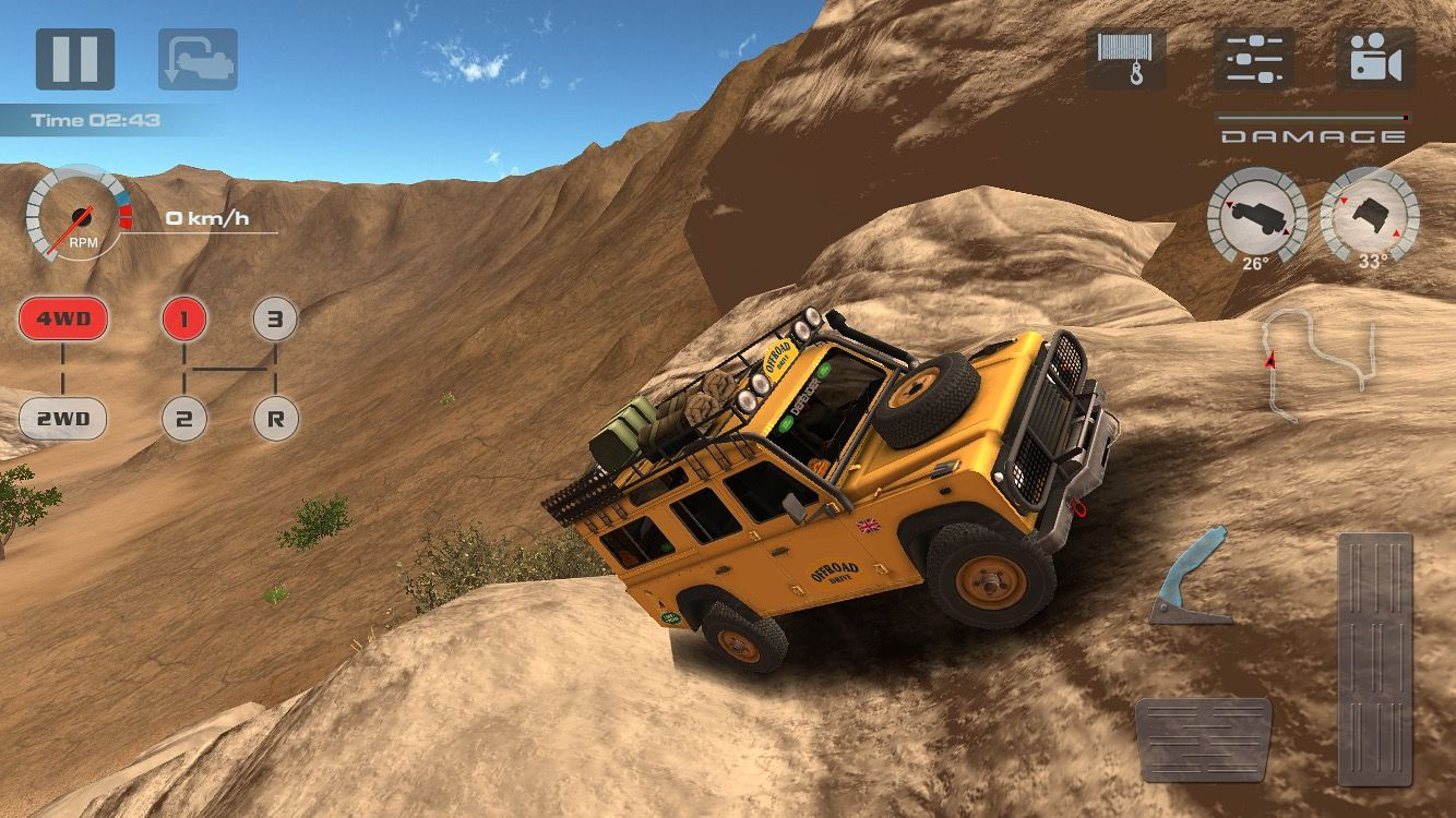 Offroad Drive Desert Smart Phone Game For Android Ios And Windows Phone Offroad Monster Trucks Phone Games
