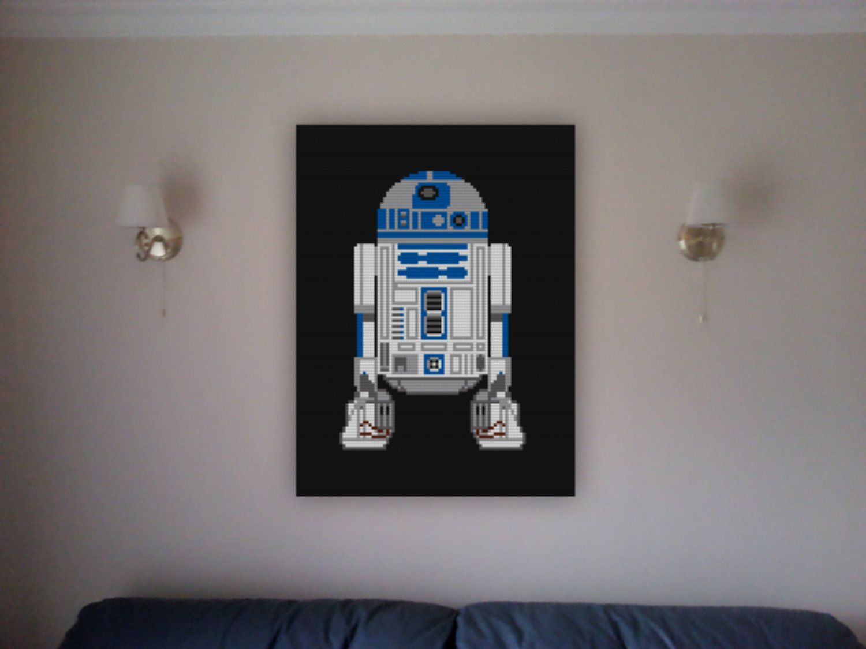 Decorative #StarWars Wall #LEGO Mosaics For Sci Fi Geeks Part 65