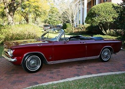 Just A Car Geek A Beautiful 1964 Corvair Monza Convertible Old Classic Cars American Classic Cars Chevrolet Corvair