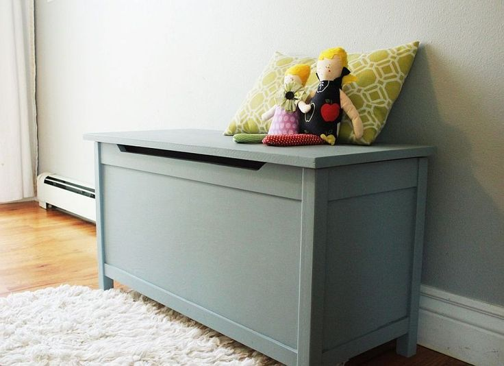 Ideas : Easy-to-craft DIY wooden toy box