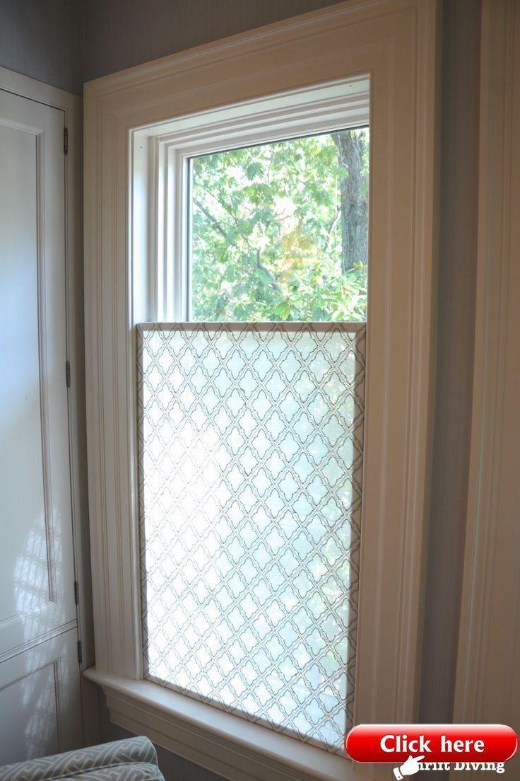 Wie Erstelle Ich Ein Hubsches Diy Fenster Sichtschutz Selbermachen Diyfe Bad Fenster Vorhange Badezimmer Ohne Fenster Fenstergestaltung