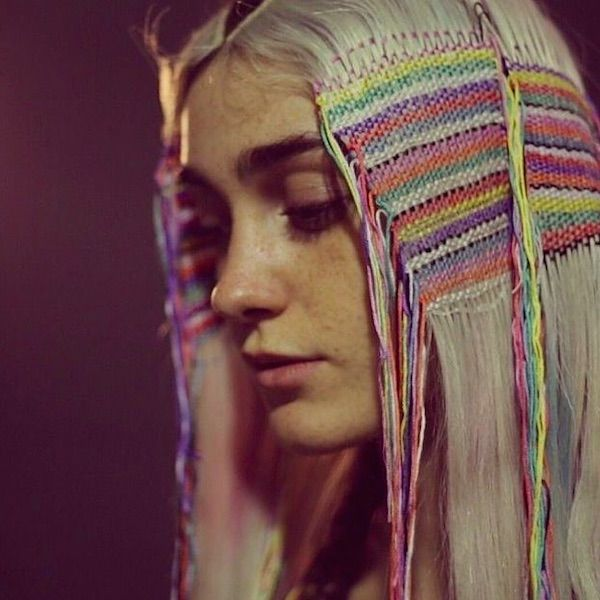 Beautify Your Locks With These 'Hair Tapestries' That Involve No Dye - DesignTAXI.com