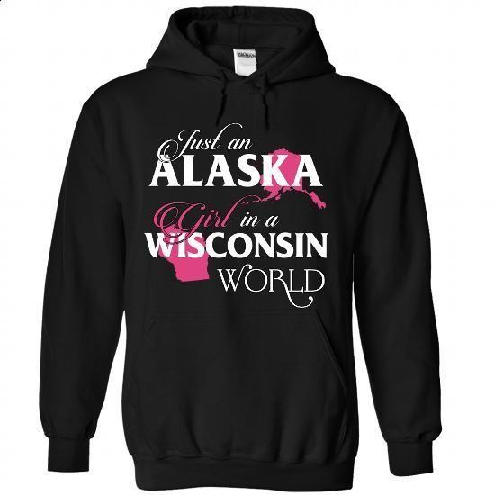 A VERMONT-WISCONSIN girl Pink02 - #hoodie sweatshirts #hoodie design. CHECK PRICE => https://www.sunfrog.com/States/A-VERMONT-2DWISCONSIN-girl-Pink02-Black-Hoodie.html?68278
