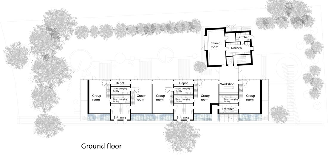 Sample Floor Plans For Daycare Center: Day Care Centre / Dorte Mandrup Arkitekter