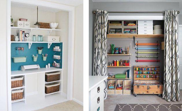 4 astuces pratiques pour am nager un atelier cr atif chez soi m6 diy workshop. Black Bedroom Furniture Sets. Home Design Ideas