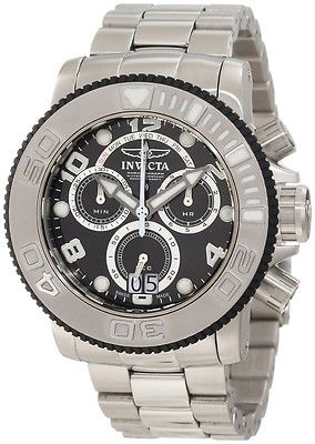 f28715dc1 Invicta Men's 11160 New Sea Hunter Pro Diver Black Dial Swiss Chronograph  Watch *Ebay Seller Holidaydaddy*