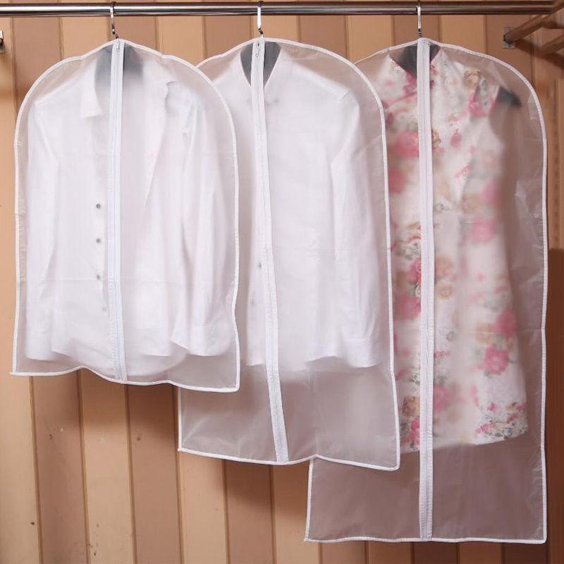 Dress Suit Covers Garment Protection Coat Clothes Plastic