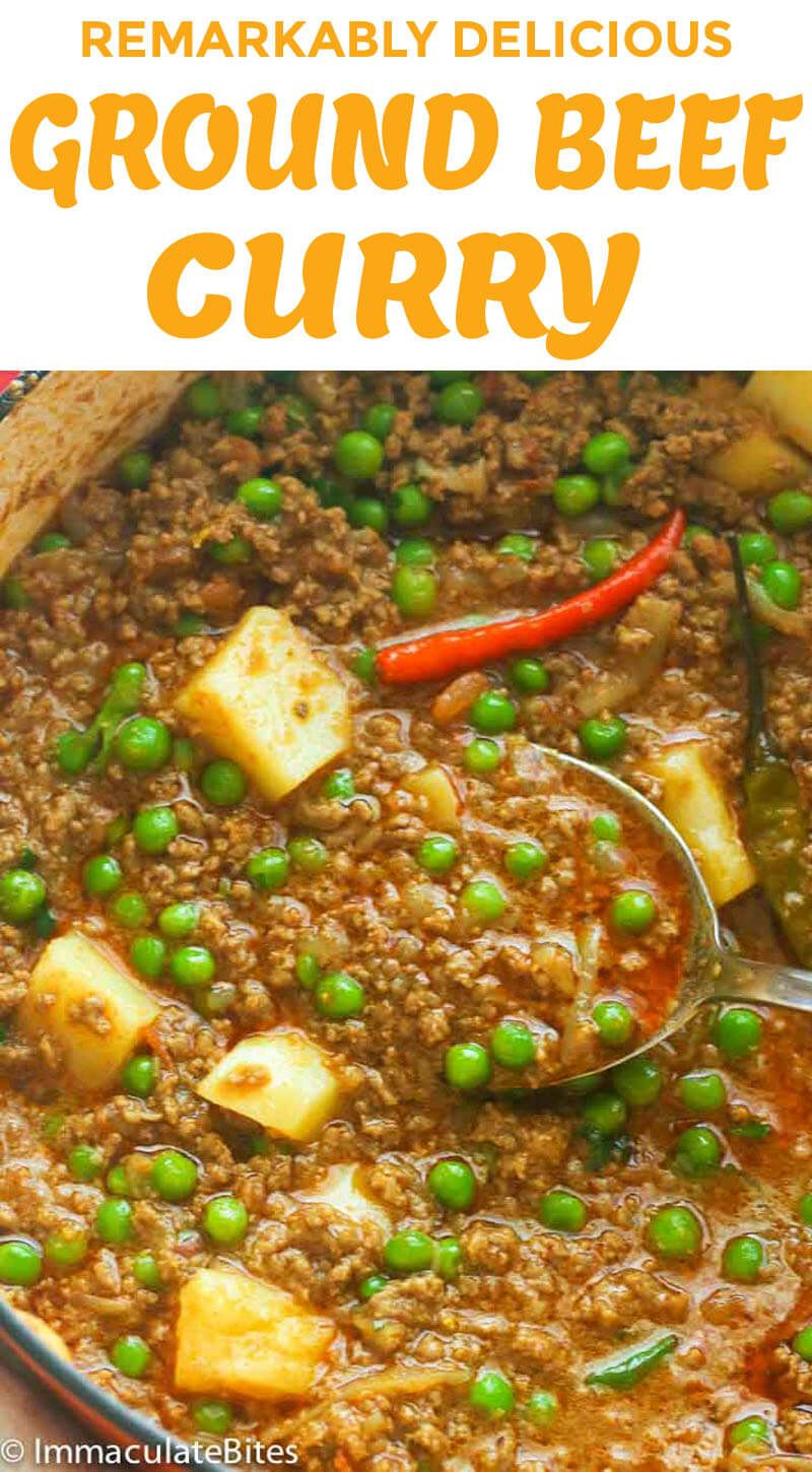 Minced Curry Recipe Food Recipes Curry Recipes Minced Meat
