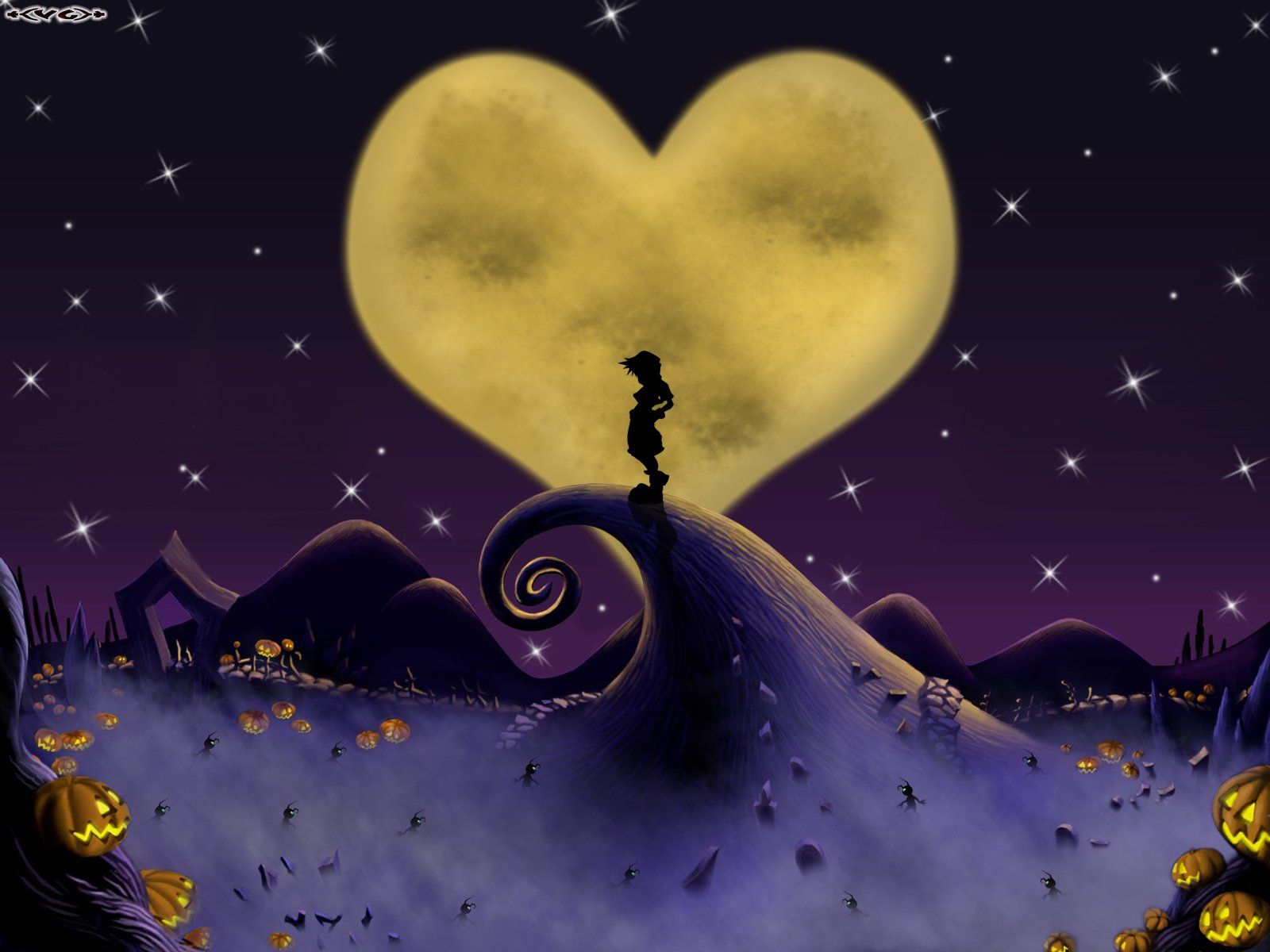 Video Game Kingdom Hearts Sora (Kingdom Hearts) The Nightmare Before ...