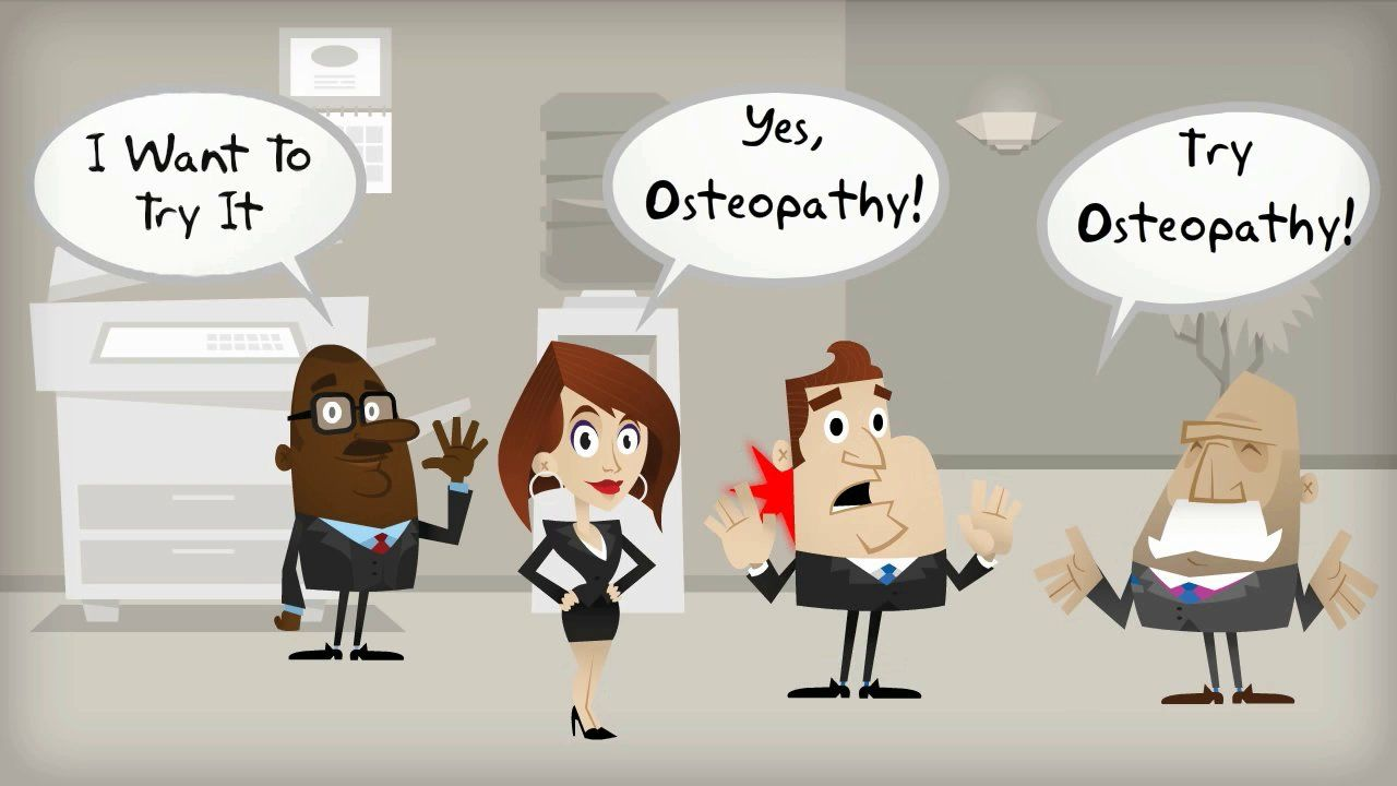 Osteopathy Introductory Cartoon   Osteopathy: About   Pinterest