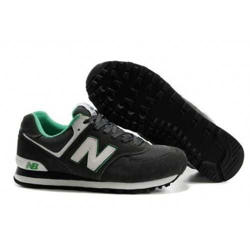 Sale New Balance 574 Mens Deep Green White Running Trainers Buy Cheap Low  Shipping