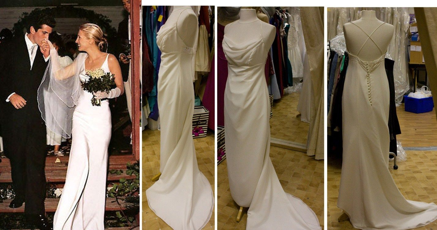 31++ Caroline bassett kennedy wedding dress ideas