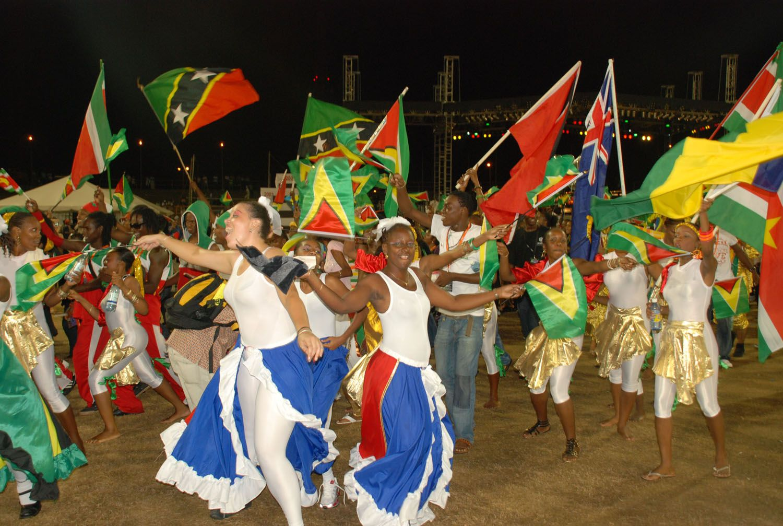 Guyana Caribbean | Guyana | Caribbean flags, South america