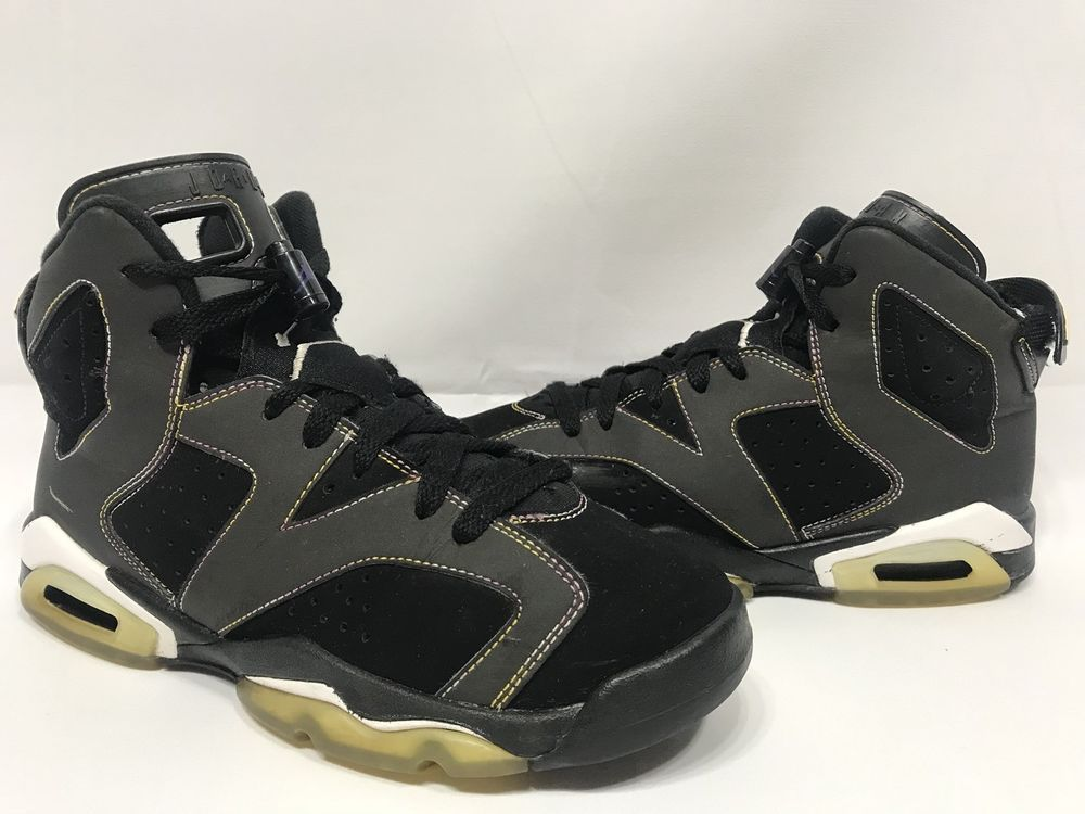 huge discount 9cdd6 ca3e6 Nike Air Jordan VI 6 Lakers Retro GS 2009 sz 5.5Y 384665-002 ...