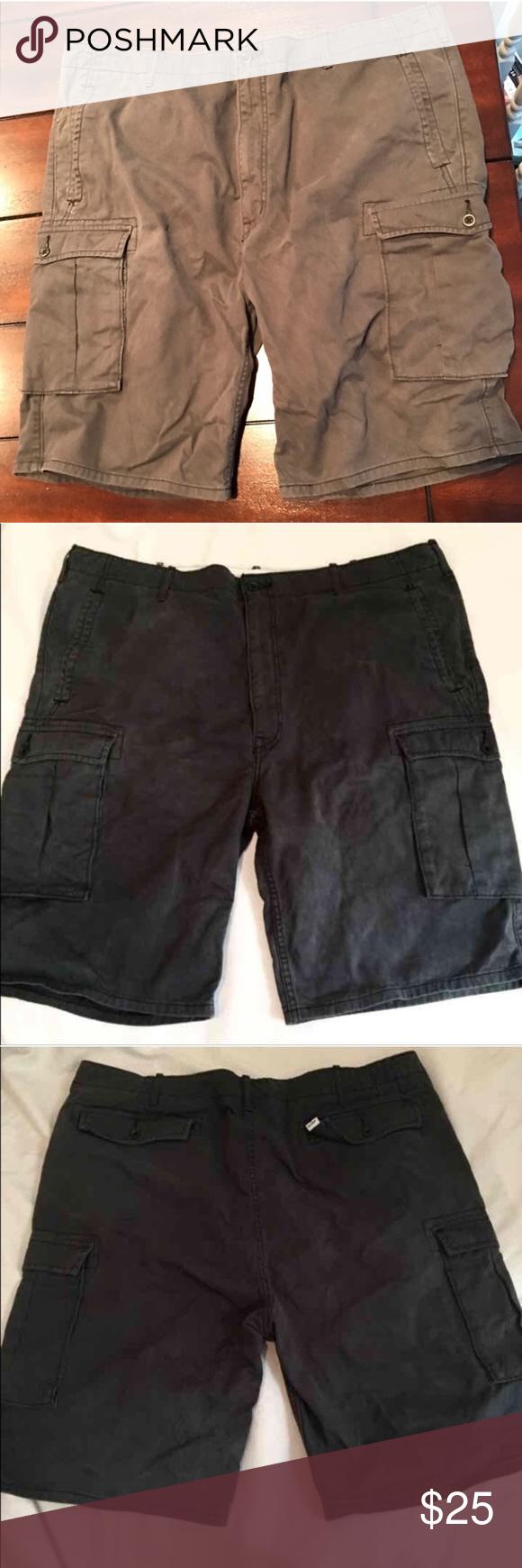 Levi's Levi Dark Grey Cargo Shorts 42 Mens shorts Size W42 Waist ...