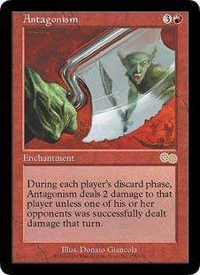 Antagonism (Magic the Gathering : Urza's Saga #173 Rare)