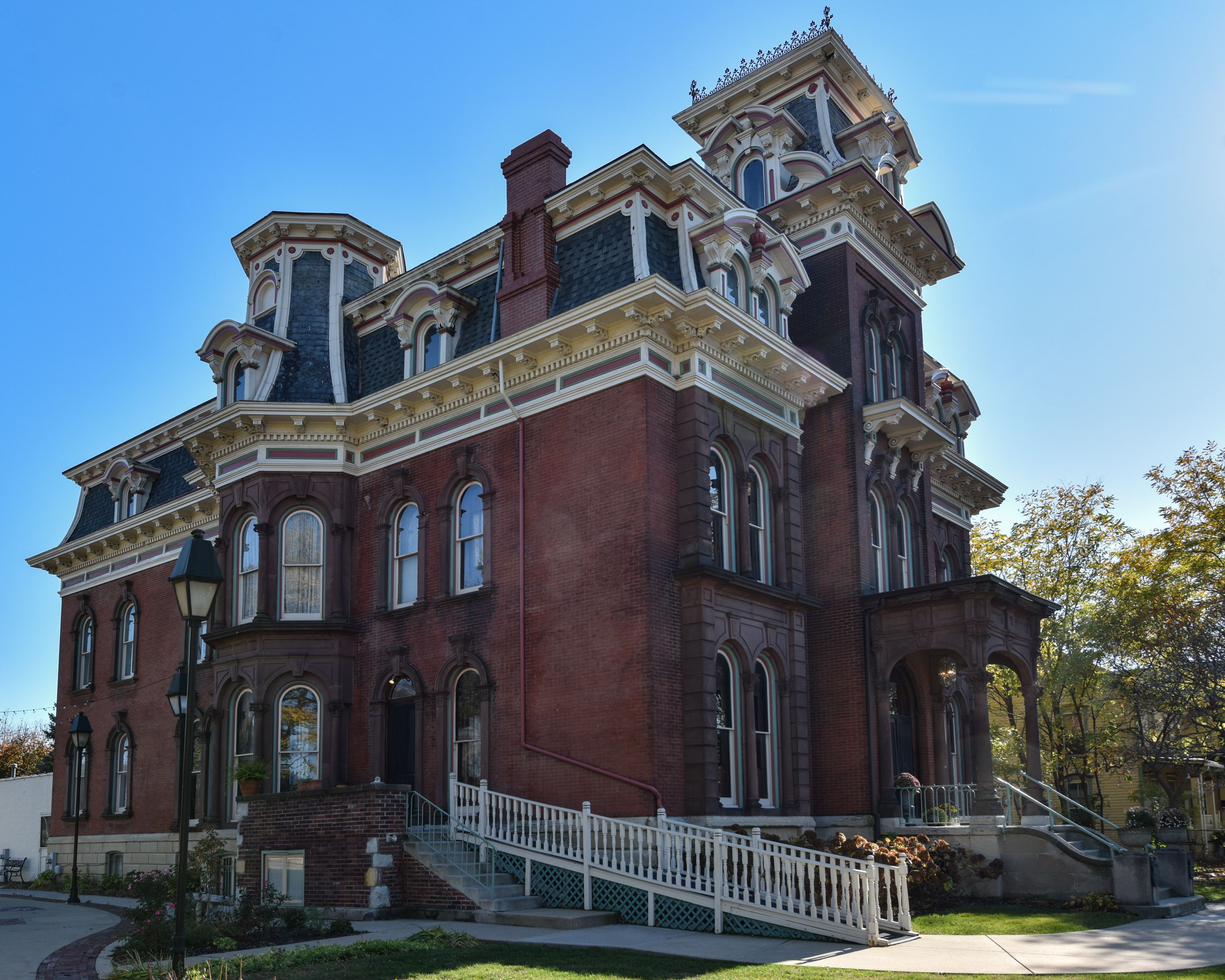 JacobHenryMansion Joliet Illinois Architecture