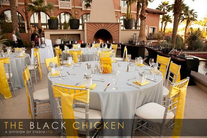 Jamila and Michael: A Yellow And Grey Wedding At Loews Lake Las ...