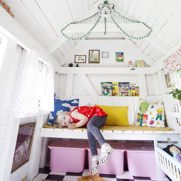 inspirational home interiors garden. Interesting Garden Playhouse Decorating Ideas  Childrenu0027s In The Garden Or  Backyard 2 Inspiring Examples  Play House InteriorsModern  To Inspirational Home Interiors Garden L