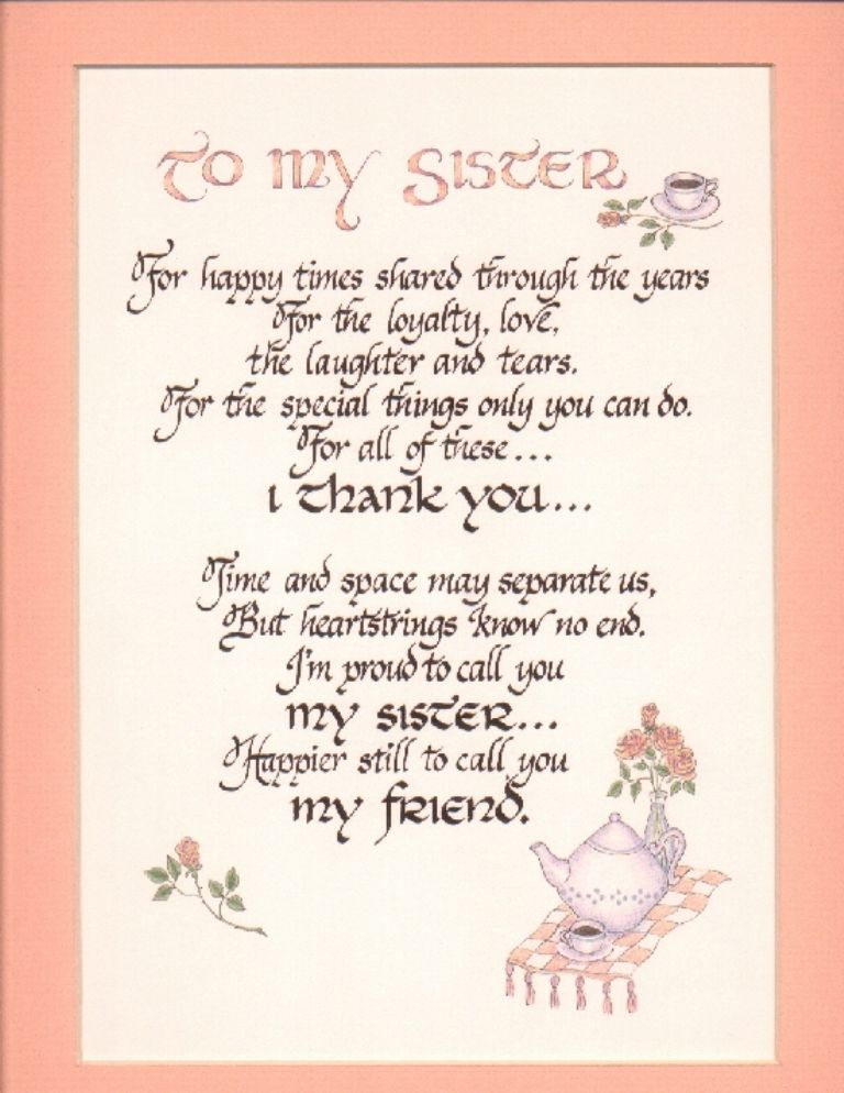 Birthday Wish Poem10 768x994 Pixels Sister Quotes Thank
