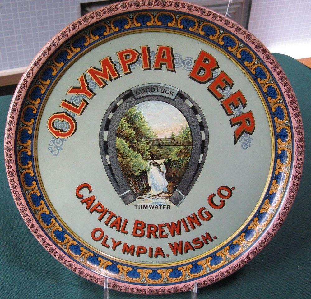 SCARCE CAPITAL BREWING CO OLYMPIA WASHINGTON BEER TRAY NOT SIGN