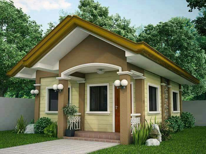 Pin By Azurez Walterz On Rumah Idaman Simple House Design House Design Pictures Small House Design