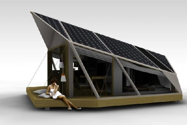 Luxury & The Leav is a fancy solar powered camping concept | Camping images ...