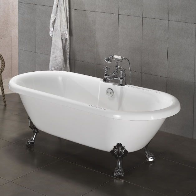 baignoire sur pieds de style r tro image 1 569 p17b 0113 pinterest. Black Bedroom Furniture Sets. Home Design Ideas