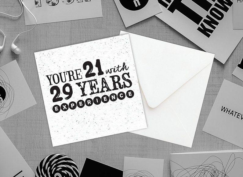 vintageblush | GREETING CARDS  Brush black and white typography