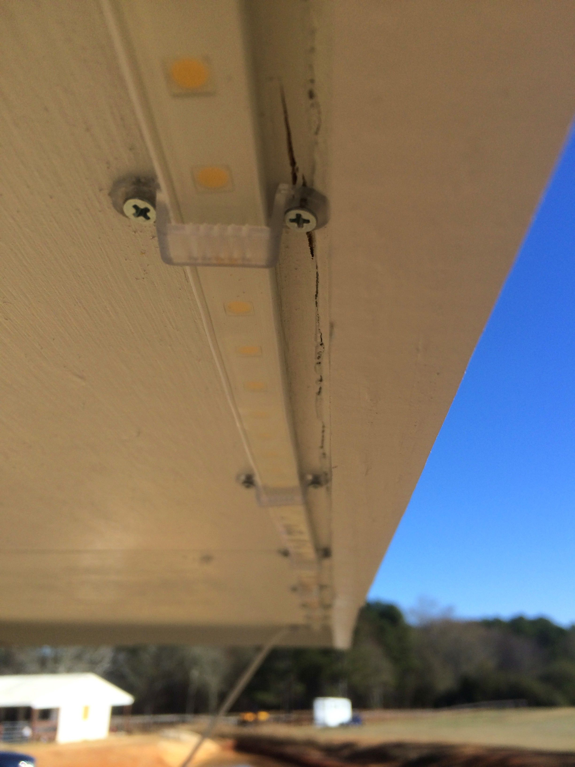 I Installed Led Lights Around The Eaves Of My House House