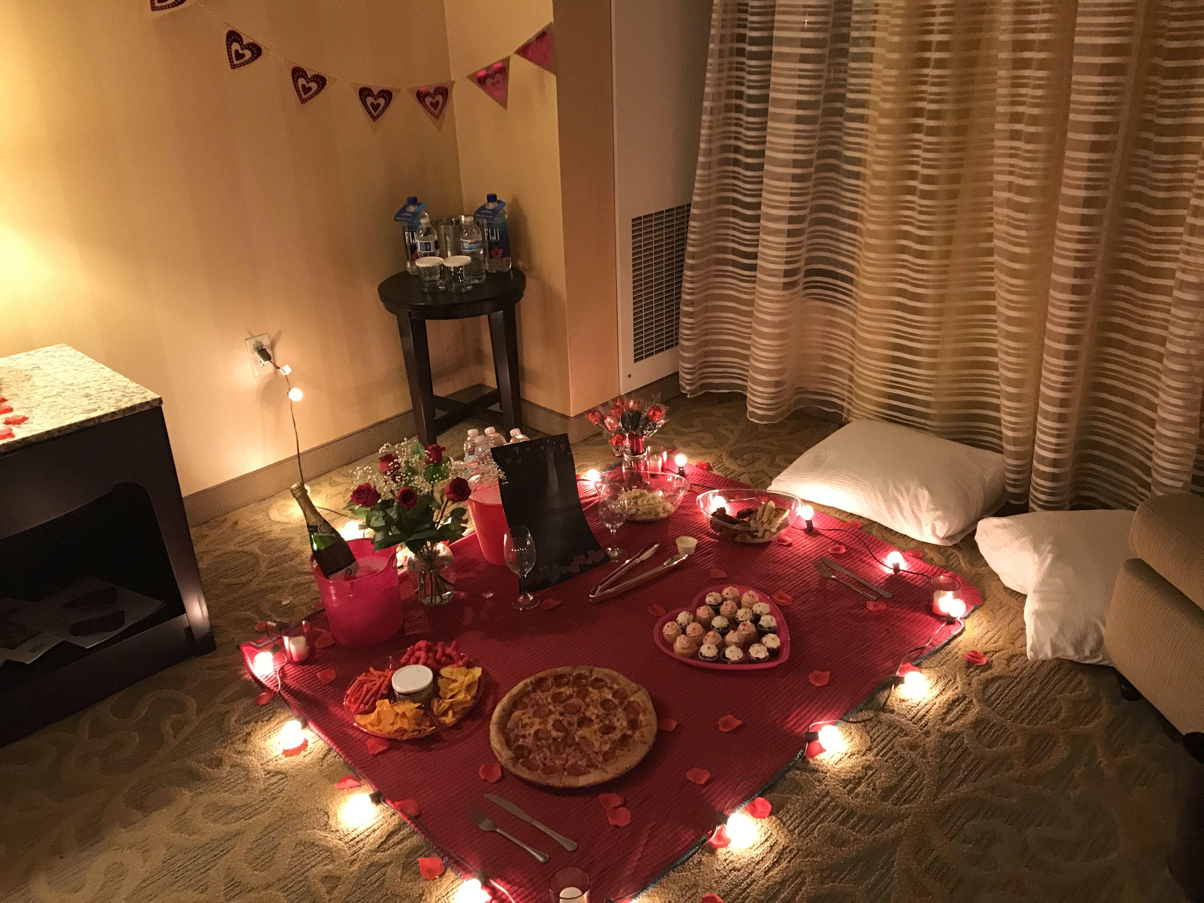 Valentine's Day picnic idea for boyfriend | Beautiful ... Surprise Romantic Night At Home