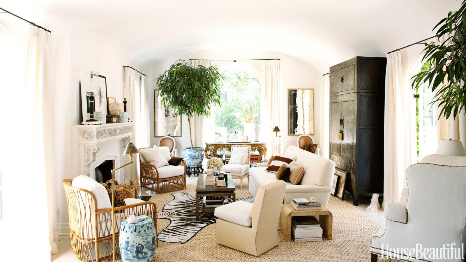 Caribbean Inspired Living Rooms. 25 hawaiian interior decorating ...