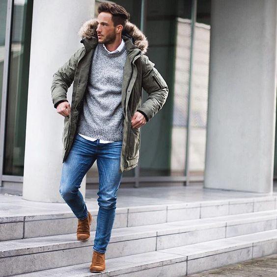 manteau hiver homme fashion