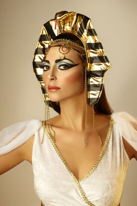 Halloween Inspiration with FAUX: Cleopatra | Eyes | Pinterest ...