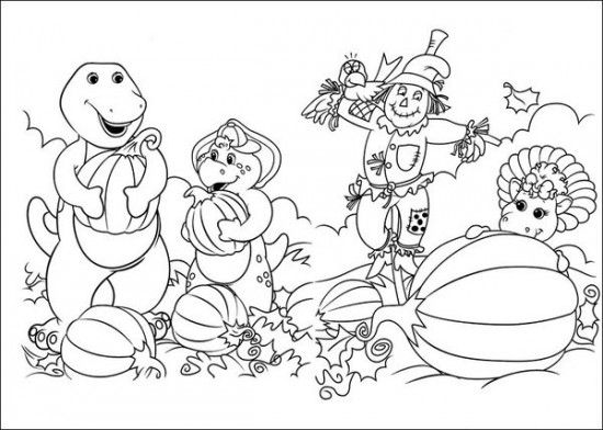 Free Barney And Friends Coloring Pages / All About Free Coloring ...