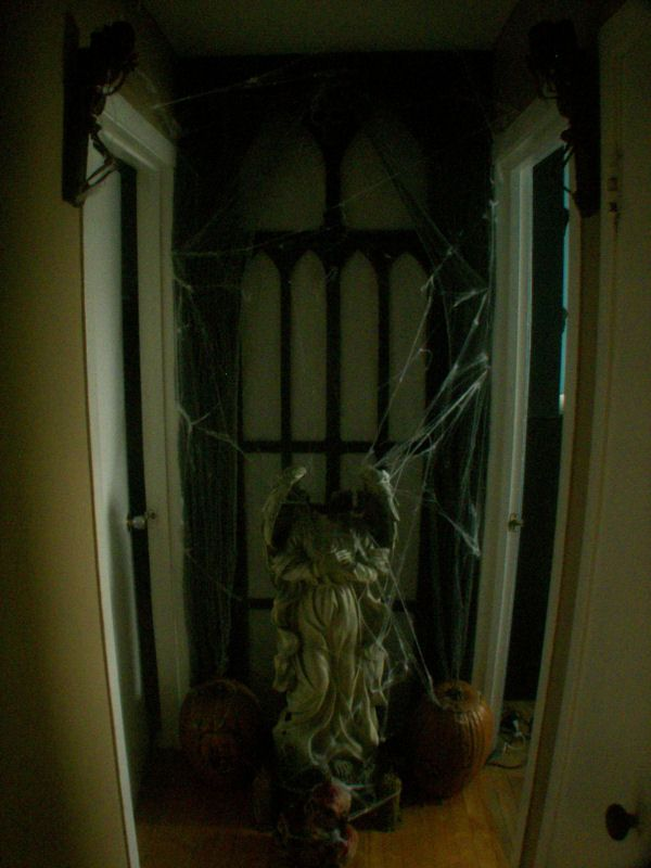Lots of good ideas in this photo album on Halloween Forum Haunted - haunted forest ideas for halloween